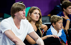 Andrei Kirilenko, former player of Russia during basketball match between National Teams  Spain and Russia at Day 18 in 3rd place match of the FIBA EuroBasket 2017 at Sinan Erdem Dome in Istanbul, Turkey on September 17, 2017. Photo by Vid Ponikvar / Sportida