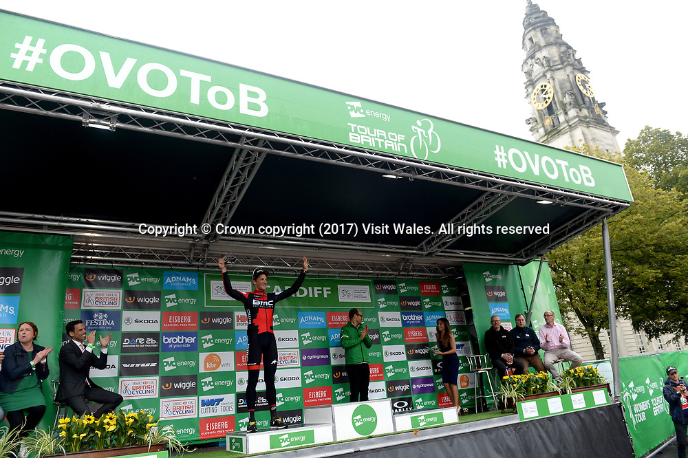 Tour Of Britain Cycling 2017<br /> Cardiff<br /> South Wales<br /> <br /> Photographer: Wales News Service
