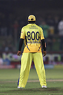 Muthiah Muralitharan of the Chennai Super Kings during match 13 of the Airtel CLT20 between The Superkings and the Victorian Bushrangers held at St Georges Park in Port Elizabeth on the 18 September 2010..Photo by: Shaun Roy/SPORTZPICS/CLT20
