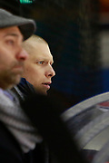 Mitja Sivic Coach of Lyon during the French Championship Ligue Magnus, Playoffs match 3, Ice Hockey match between Lyon and Amiens on february 27, 2018 at Patinoire Charlemagne in Lyon, France - Photo Romain Biard / Isports / ProSportsImages / DPPI