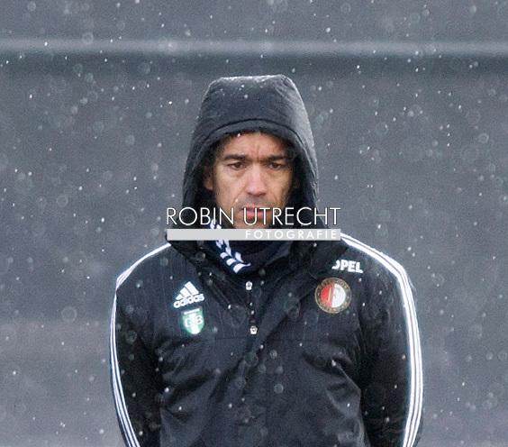 24-02-2016 VOETBAL: TRAINING FEYENOORD: ROTTERDAM Giovanni van Bronckhorst, coach Feyenoord   COPYRIGHT ROBIN UTRECHT