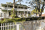 Lesesne House in the historic district of Fernandina Beach, Florida