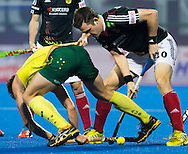 BHUBANESWAR (India) -  Hero Champions Trophy hockey men. Semifinal Germany vs Australia. Christopher Wesley of Germany.Photo Koen Suyk
