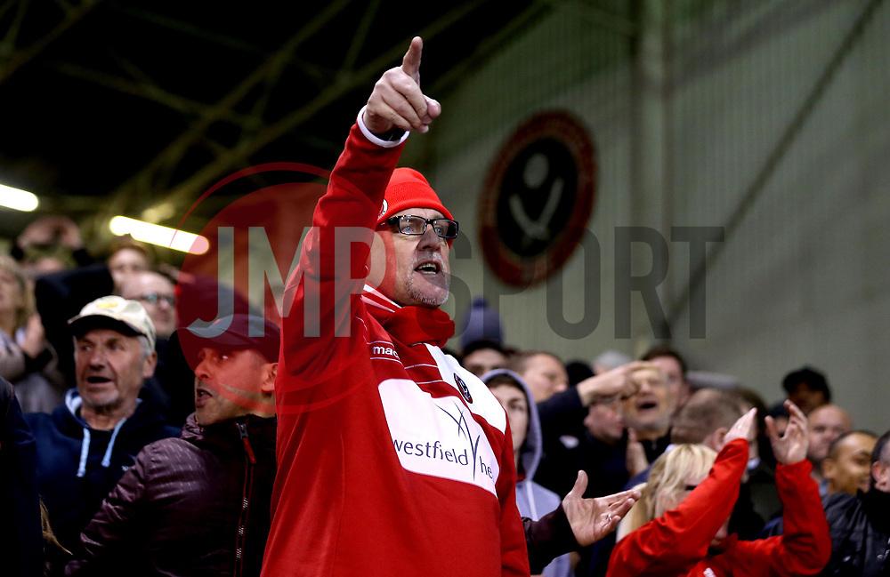 Sheffield United fans - Mandatory by-line: Robbie Stephenson/JMP - 05/04/2017 - FOOTBALL - Brammall Lane - Sheffield, England - Sheffield United v Coventry City - Sky Bet League One
