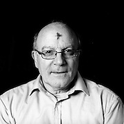 Visitors to Whitefriar Street church in Aungier St. in Dublin photographed after they received ashes on their forehead on Ash Wednesday.