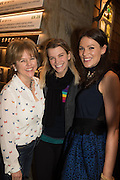 RACHEL KELLY;  VISCOUNTESS HINCHINGBROOKE; ALICE MACKINTOSH;, Launch of The Happy Kitchen: Good Mood Food, by Rachel Kelly and Alice Mackintosh. Squirrel, South Kensington. London. 31 January 2017