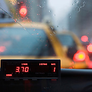 New York City Taxi Cab and Fare Meter