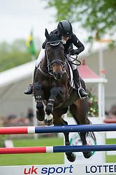 Price Jonelle, (NZL), The Deputy<br /> Jumping<br /> Mitsubishi Motors Badminton Horse Trials - Badminton 2015<br /> © Hippo Foto - Jon Stroud
