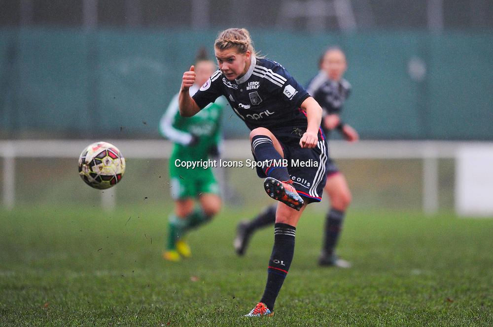 Ada HEGERBERG  - 03.12.2014 - Saint Etienne / Lyon - 11eme journee de Division 1<br /> Photo : Thomas Pictures / Icon Sport