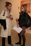Elena Bonanno di Linglossa and Kristina McLean, Other,Riyas Komu and Peter Drake. - VIP  launch of Aicon. London's largest contemporary Indian art gallery. Heddon st. and afterwards at Momo.15 Marc h 2007.  -DO NOT ARCHIVE-© Copyright Photograph by Dafydd Jones. 248 Clapham Rd. London SW9 0PZ. Tel 0207 820 0771. www.dafjones.com.