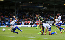 Billy Bodin of Bristol Rovers scores his sides third goal  - Mandatory by-line: Matt McNulty/JMP - 19/08/2017 - FOOTBALL - Gigg Lane - Bury, England - Bury v Bristol Rovers - Sky Bet League One