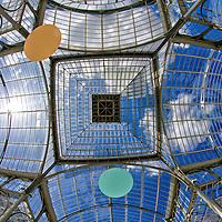 Palacio de Cristal. Crystal Palace. Parque El Retiro. Madrid, Spain.