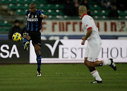 Bari (BA), 03-02-2011 ITALY - Italian Soccer Championship Day 23 - Bari VS Inter..Pictured: Maicon (I).Photo by Giovanni Marino/OTNPhotos . Obligatory Credit