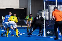Clifton Robinsons v Indian Gymkhana - Men's O40s T1 Final, Lee Valley Hockey & Tennis Centre, London, UK on 06 May 2018. Photo: Simon Parker