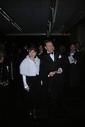 Lord and Lady Strathclyde. The Black and White Winter Ball. Old Billingsgate. London. 8 February 2006. -DO NOT ARCHIVE-© Copyright Photograph by Dafydd Jones 66 Stockwell Park Rd. London SW9 0DA Tel 020 7733 0108 www.dafjones.com