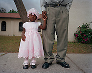 Haitian Migrant Daughter after Mass, Immokalee, Florida. 2006. (photo by Susana Raab)