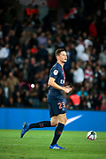 Julian Draxler (PSG) scored a goal, celebration during the French Championship Ligue 1 football match between Paris Saint-Germain and AS Saint-Etienne on September 14, 2018 at Parc des Princes stadium in Paris, France - Photo Stephane Allaman / ProSportsImages / DPPI