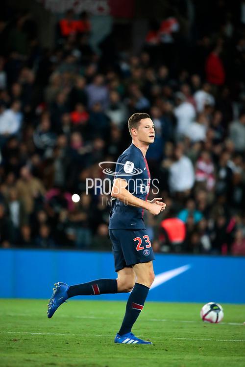 Julian Draxler (PSG) scored a goal, celebration during the French Championship Ligue 1 football match between Paris Saint-Germain and AS Saint-Etienne on September 14, 2018 at Parc des Princes stadium in Paris, France - Photo Stephane Allaman / ProSportsImages / DPPI