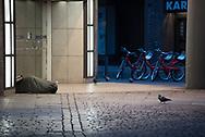 Dieter. Obdachlos im Herbst