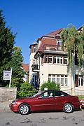 Der Turm, Villa, Villengegend Weißer Hirsch, Dresden, Sachsen, Deutschland.|.Villa, villa district Weisser Hirsch, Dresden, Germany