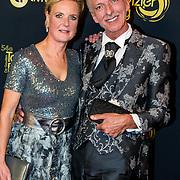 NLD/Amsterdam/20191009 - Uitreiking Gouden Televizier Ring Gala 2019, Erica en Martien Meiland