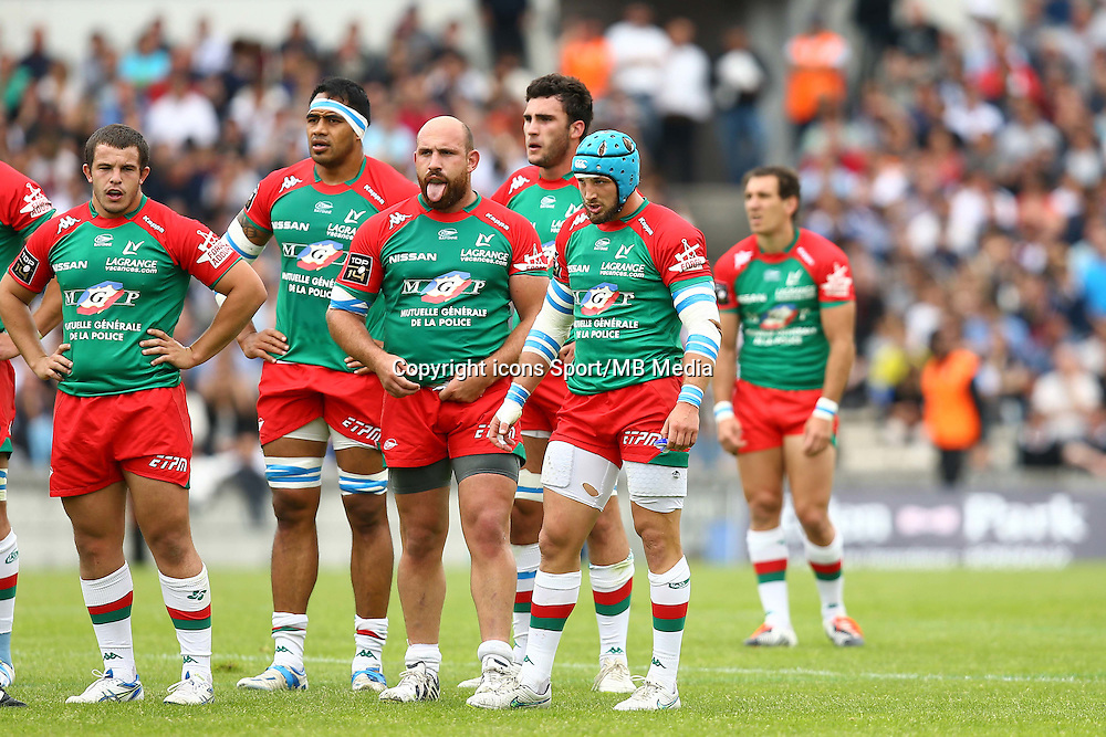 Deception Bayonne - Lucas Pointud - 16.05.2015 - Bordeaux Begles / Bayonne - 25eme journee de Top 14<br />
