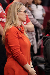 05 December 2015: Melissa Muller - wife of Dan Muller. Illinois State Redbirds host the University of Alabama - Birmingham Blazers at Redbird Arena in Normal Illinois (Photo by Alan Look)