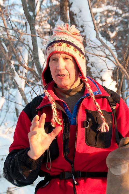 Bob Yankus at Stokely Creek Lodge in Ontario Canada.