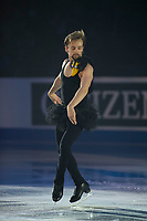 KELOWNA, BC - OCTOBER 24: Jean-Luc Baker of the United States performs during the gala of Skate Canada International at Prospera Place on October 24, 2019 in Kelowna, Canada. (Photo by Marissa Baecker/Shoot the Breeze)