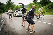Grafton, West Virginia, USA, 20130618: Cristoph Strasser nærmer seg Annapolis. Dag 6 og 7 av RAAM, Race Across America. Foto: Ørjan F. Ellingvåg