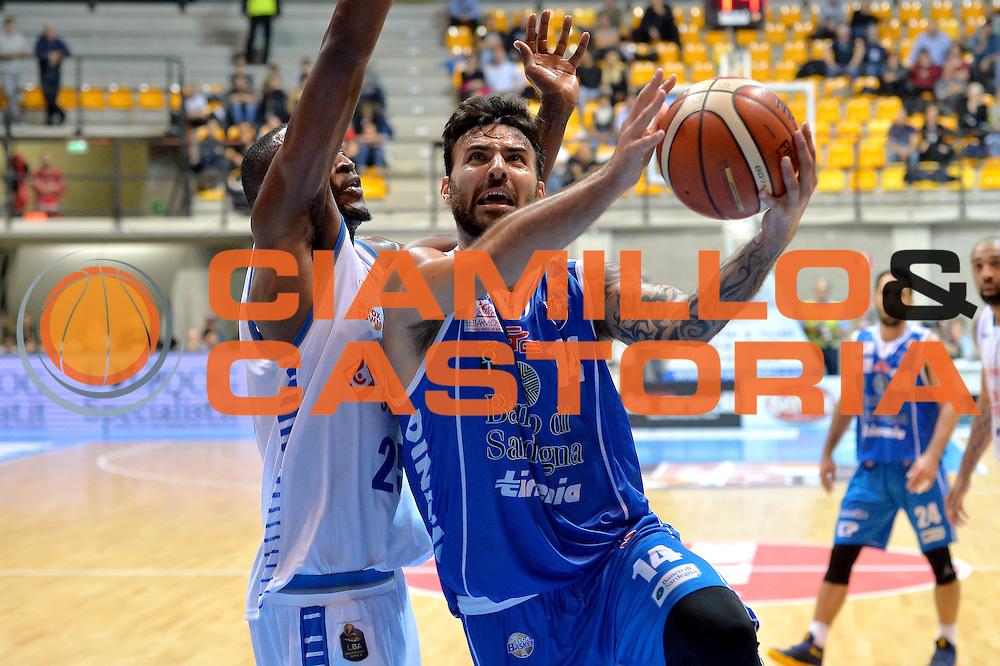 Brian Sacchetti<br /> Red October Cantu' vs Banco di Sardegna Sassari<br /> Basket Serie A 2016/2017<br /> Milano 23/10/2016<br /> Foto Ciamillo-Castoria