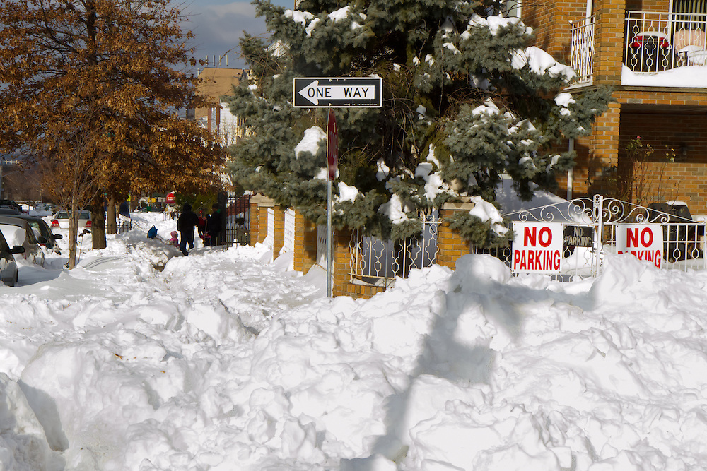 Taken on December 29, 2010, it was three days after the storm and the city was still paralyzed. A record 26 inches fell.