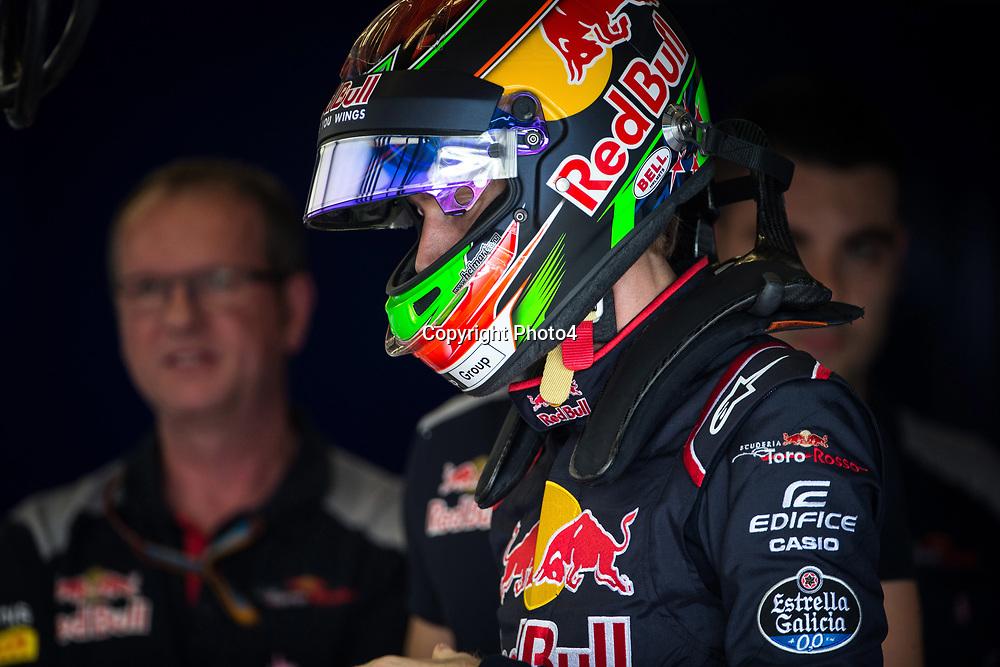 &copy; Photo4 / LaPresse<br /> 19/10/2017 Austin, USA<br /> Sport <br /> Grand Prix Formula One USA 2017<br /> In the pic: Brendon Hartley (NZE) Scuderia Toro Rosso STR12