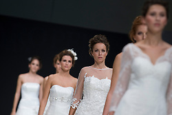 Spanish Bridal Fashion Show can be seen in Madrid on 27 and 28 at Feria de Madrid, with THOUSAND AND A WEDDING, October 26, 2012, SPAIN (MADRID). Photo by Oscar Gonzalez / i-Images...SPAIN OUT