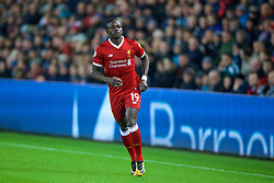 SWANSEA, WALES - Monday, January 22, 2018: Liverpool's Sadio Mane during the FA Premier League match between Swansea City FC and Liverpool FC at the Liberty Stadium. (Pic by David Rawcliffe/Propaganda)