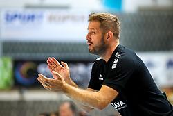 Uros Rapotec, head coach of RD Koper during handball match between RD Koper and RK Celje, on October 16, 2019, in Dvorana Bonifika, Koper / Capodistria, Slovenia. Photo by Matic Klansek Velej / Sportida.