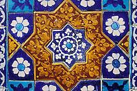 Ceramic of Lal Shabbaz Qalandar shrine, Sehwan e Sharif, Sind Province, Pakistan