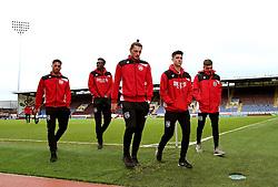 Bristol City players arrive at Turf Moor - Mandatory by-line: Matt McNulty/JMP - 28/01/2017 - FOOTBALL - Turf Moor - Burnley, England - Burnley v Bristol City - Emirates FA Cup fourth round