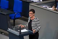 DEU, Deutschland, Germany, Berlin, 12.12.2017: Saskia Esken (SPD) bei einer Rede im Deutschen Bundestag.