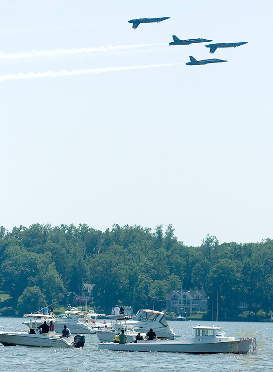 5/23/07:2007 Blue Angels (photos taken from Manresa)-day 2.Photo by Alison Harbaugh.