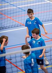 18-02-2017 NED:  Halve Finale NJOK, Houten<br /> In sporthal de kruisboog worden de wedstrijden gespeeld door CMV meisjes en jongens /