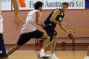 Ferentino, 01/04/2008<br /> Basket, Nazionale Italiana Maschile Senior<br /> Raduno a Ferentino<br /> Nella foto: stefano mancinelli<br /> Foto Ciamillo