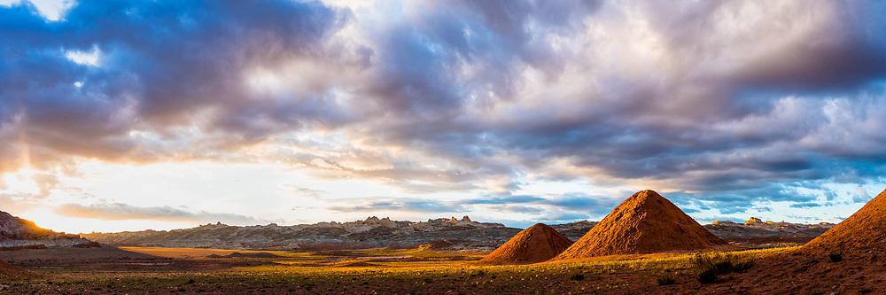 Sun setting in Utah near Gobblin State Park.  Limited Edition - 75