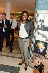 JENNY STOUTE at the Macmillan De'Longhi Art Auction 2013 held at the Royal College of Art, London on 23rd September 2013.