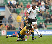 Twickenham, England. Fiji's Semisi NAEVO SAUKAWA, during the FIJI vs AUS match at the London Sevens Rugby, Twickenham Stadium, Sun, 27/05/2007 [Credit Peter Spurrier/ Intersport Images]
