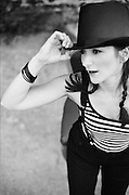 BIRMINGHAM, AL – JULY, 2007: Singer-songwriter and multi-instrumentalist Shara Nova of My Brightest Diamond.