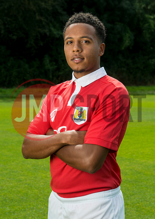 Bristol City's Korey Smith - Photo mandatory by-line: Joe Meredith/JMP - Mobile: 07966 386802 05/08/2014 - SPORT - FOOTBALL - Bristol - Ashton Gate - Press Day