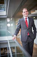Den Haag, 16 februari 2018 -  Portret Staatssecretaris Menno Snel van Financi&euml;n (D66)<br /> Foto: Phil Nijhuis