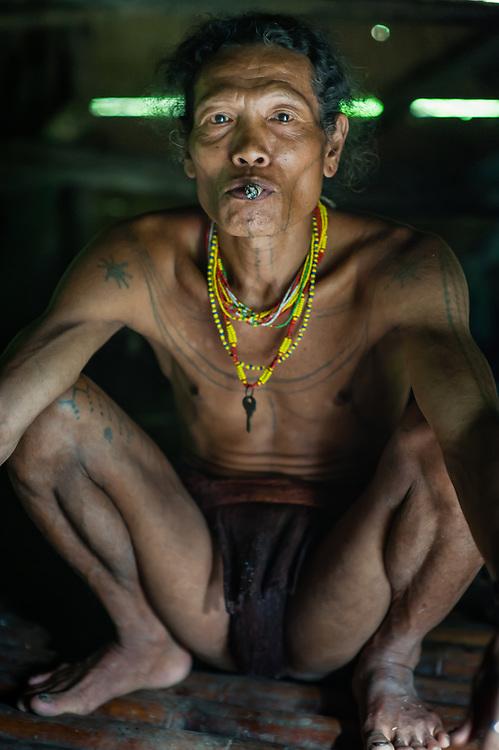 Mentawai Indigenous Man (Indonesia).