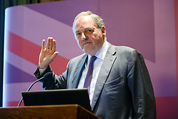 """© Licensed to London News Pictures. 17/06/2015. London, UK. UKIP MEP William Dartmouth launching """"The Truth About Trade Beyond The EU"""" pamphlet in central London, on Wednesday, June 17, 2015. Photo credit: Tolga Akmen/LNP"""